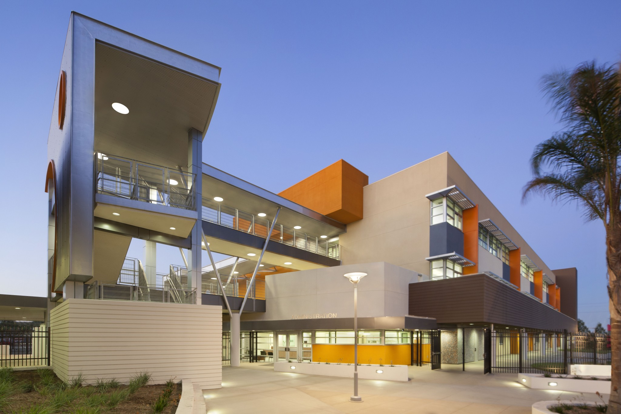 Modern High School Design Entry